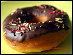 recette donut amériacian